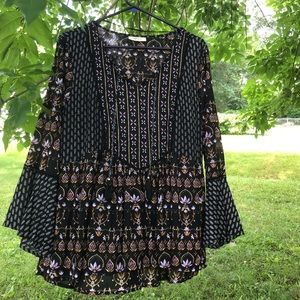 Bohemian gypsy top